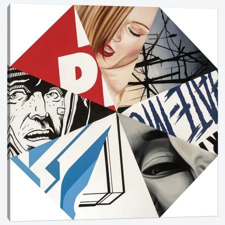 Octagon Canvas Print #JRA22} by Rawksy Canvas Art Print