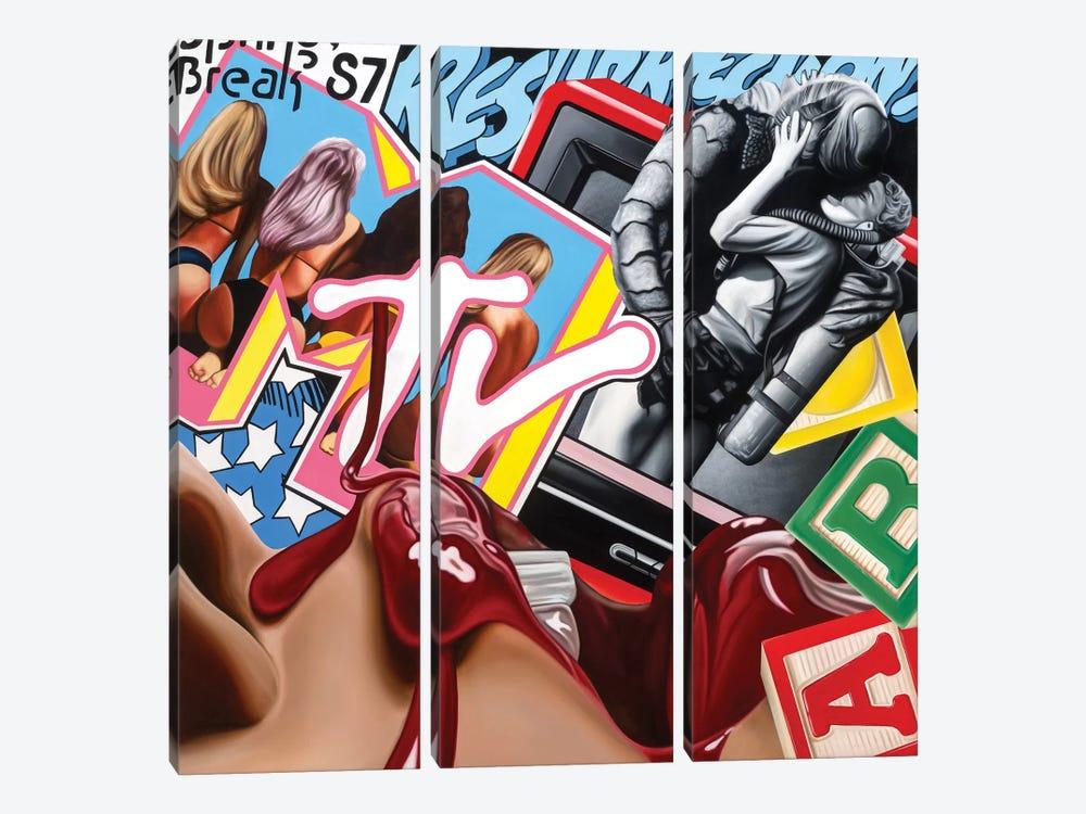 Resurrect by Rawksy 3-piece Canvas Artwork