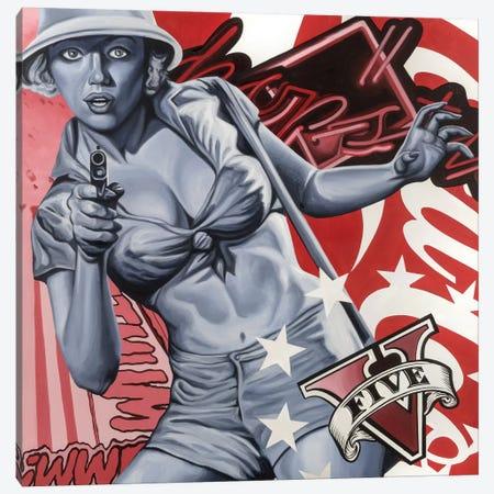Chopsticks Canvas Print #JRA7} by Rawksy Art Print