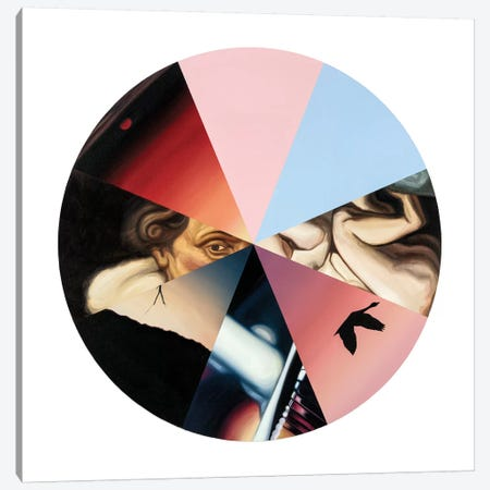 Colour Symphony Canvas Print #JRA8} by Rawksy Canvas Artwork