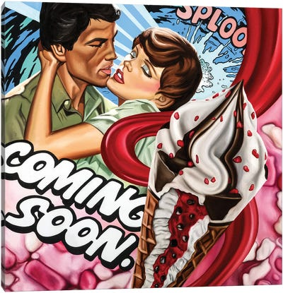 Coming Soon Canvas Art Print