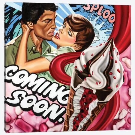 Coming Soon Canvas Print #JRA9} by Rawksy Canvas Art