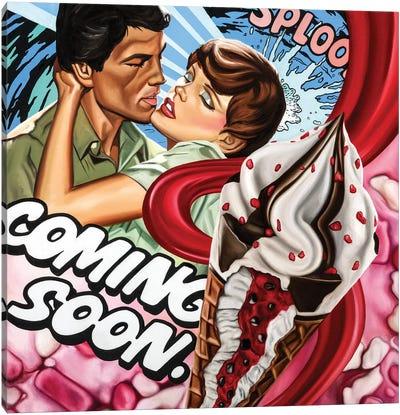 Coming Soon Canvas Art Print