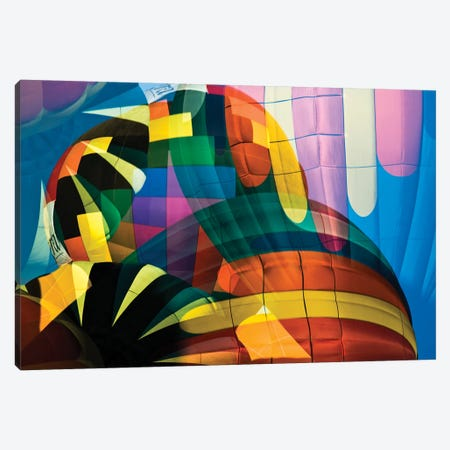 Balloons 3-Piece Canvas #JRB2} by Jerry Berry Art Print