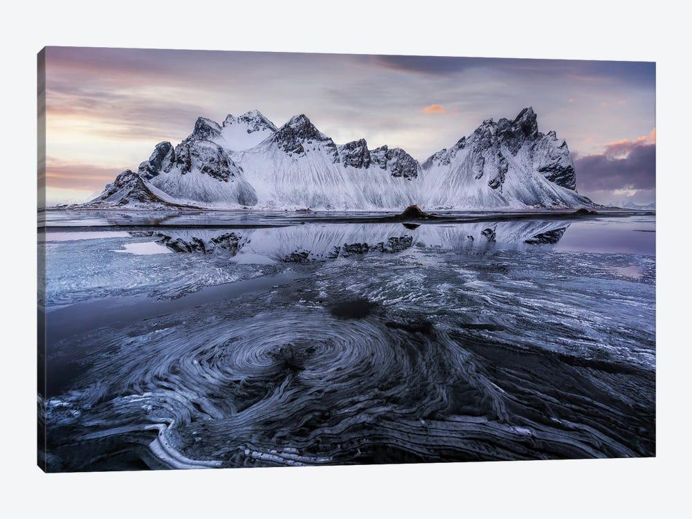 Ice Swirl by Jorge Ruiz Dueso 1-piece Canvas Art