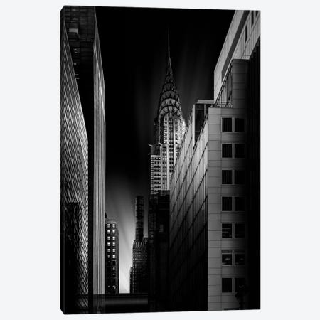 Dark City Canvas Print #JRD5} by Jorge Ruiz Dueso Canvas Artwork