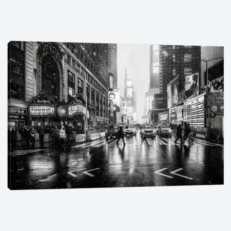 Times Square Canvas Print #JRD7} by Jorge Ruiz Dueso Canvas Art