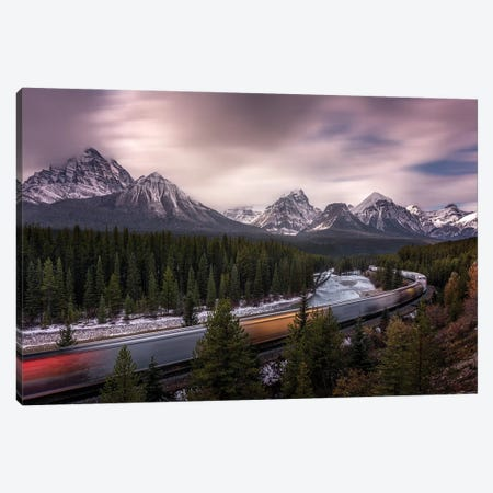 Last Train To Light Canvas Print #JRD9} by Jorge Ruiz Dueso Canvas Print