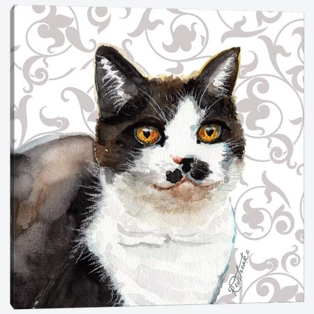 Aretha Canvas Print #JRE102} by Jennifer Redstreake Canvas Wall Art