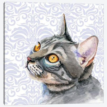 Daisy Canvas Print #JRE110} by Jennifer Redstreake Art Print