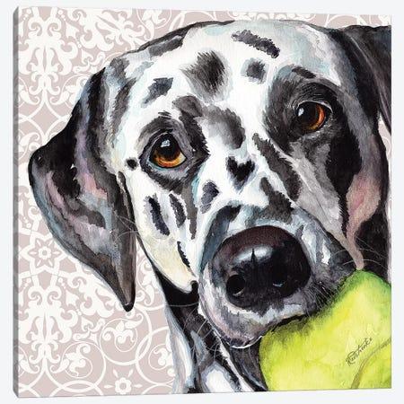 Dalmatian Canvas Print #JRE111} by Jennifer Redstreake Canvas Art Print