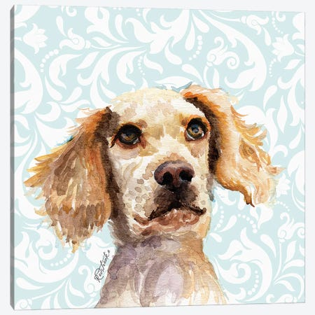 English Setter Canvas Print #JRE113} by Jennifer Redstreake Canvas Art Print