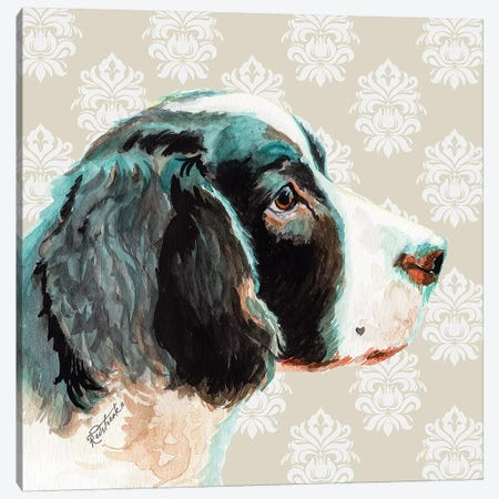 English Springer Spaniel Canvas Print #JRE114} by Jennifer Redstreake Canvas Wall Art
