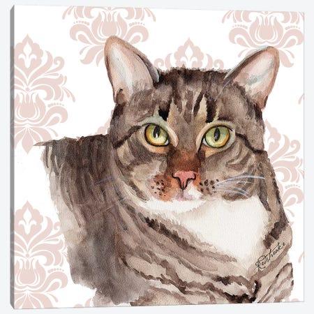 Gertie 3-Piece Canvas #JRE117} by Jennifer Redstreake Canvas Art