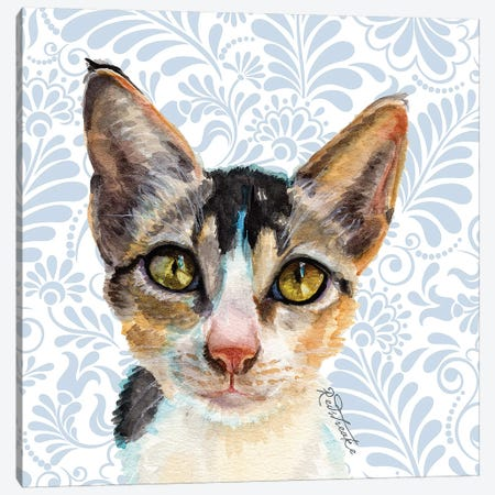 Pocket Canvas Print #JRE126} by Jennifer Redstreake Canvas Art Print