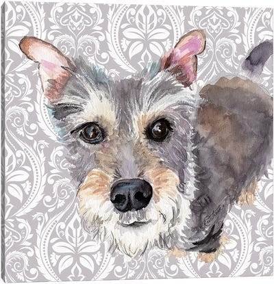Scottish Terrier Canvas Art Print