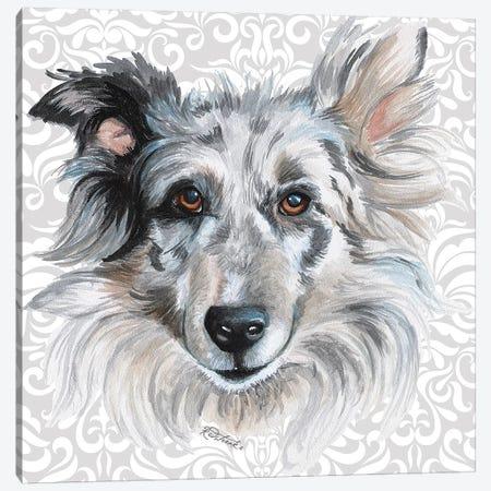 Shetland Canvas Print #JRE131} by Jennifer Redstreake Canvas Print