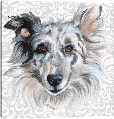Shetland Canvas Art Print