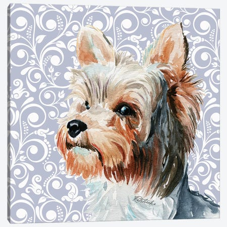 Yorkshire Terrier II Canvas Print #JRE136} by Jennifer Redstreake Canvas Art