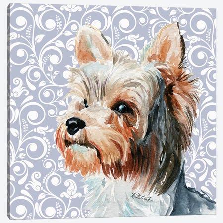 Yorkshire Terrier II Canvas Print #JRE136} by Jennifer Redstreake Canvas Art