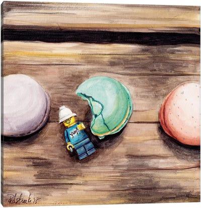Macaron Yum Canvas Print #JRE19