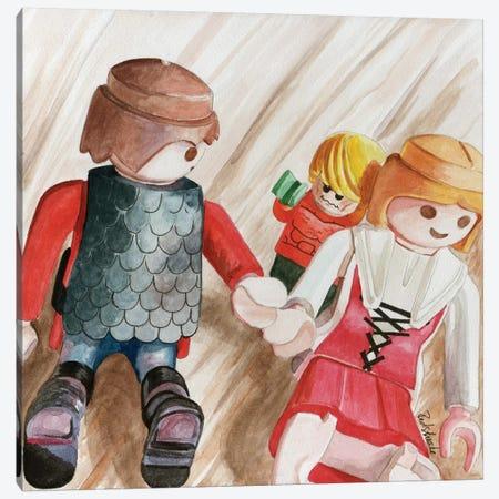 Phobomb II Canvas Print #JRE26} by Jennifer Redstreake Canvas Art
