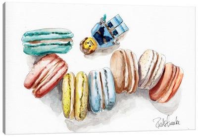 Macaron Heaven Canvas Print #JRE35