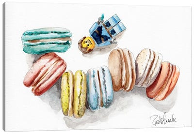 Macaron Heaven Canvas Art Print