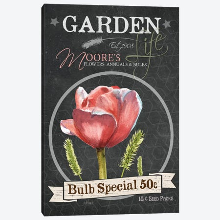 Bulb Special Canvas Print #JRE39} by Jennifer Redstreake Canvas Art
