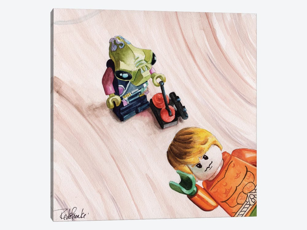 Photobomb I by Jennifer Redstreake 1-piece Canvas Artwork
