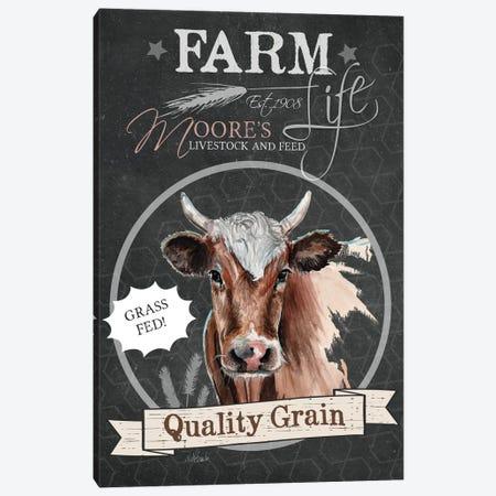 Quality Grain Canvas Print #JRE40} by Jennifer Redstreake Canvas Print