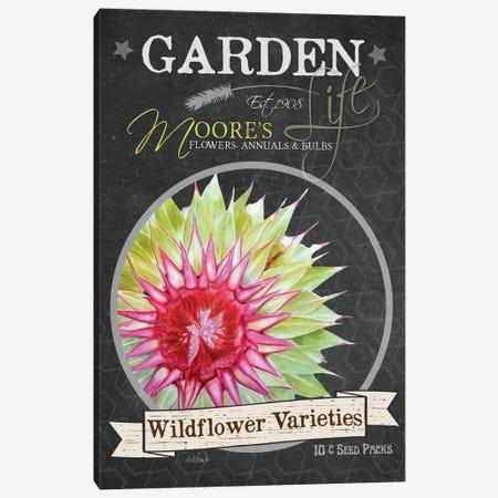 Wildflower Varieties Canvas Print #JRE46} by Jennifer Redstreake Canvas Artwork