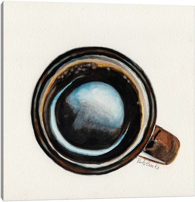 Brown Coffee Cup Canvas Art Print