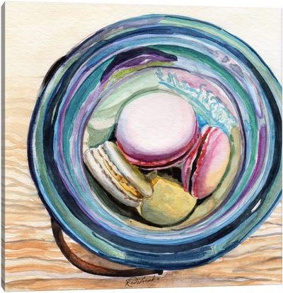 Macaron Ball Jar Canvas Art Print