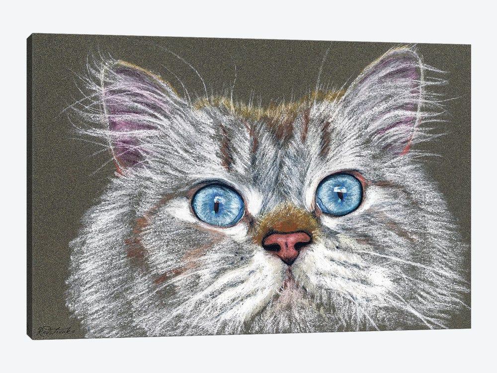 Surprised Cat by Jennifer Redstreake 1-piece Art Print