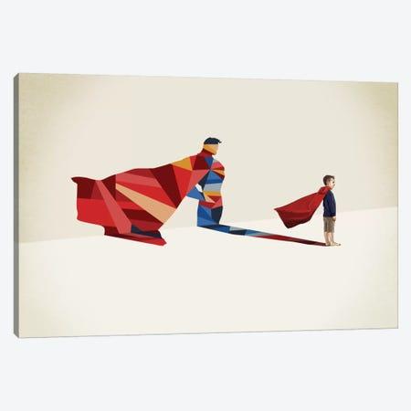 Walking Shadow Hero I Canvas Print #JRF12} by Jason Ratliff Art Print