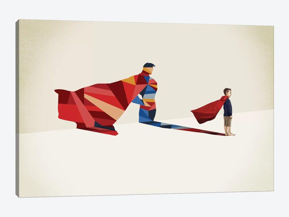 Walking Shadow Hero I by Jason Ratliff 1-piece Canvas Wall Art