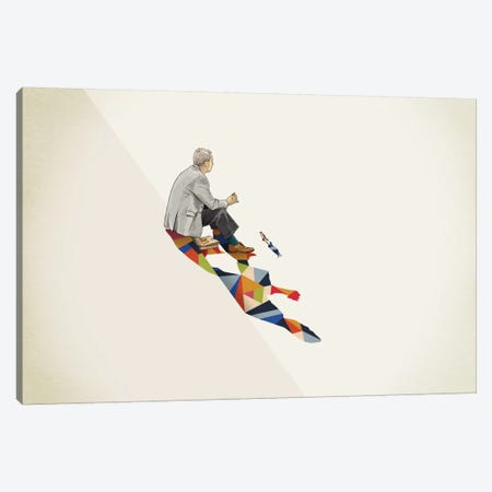 Walking Shadow Lunch Canvas Print #JRF14} by Jason Ratliff Canvas Art