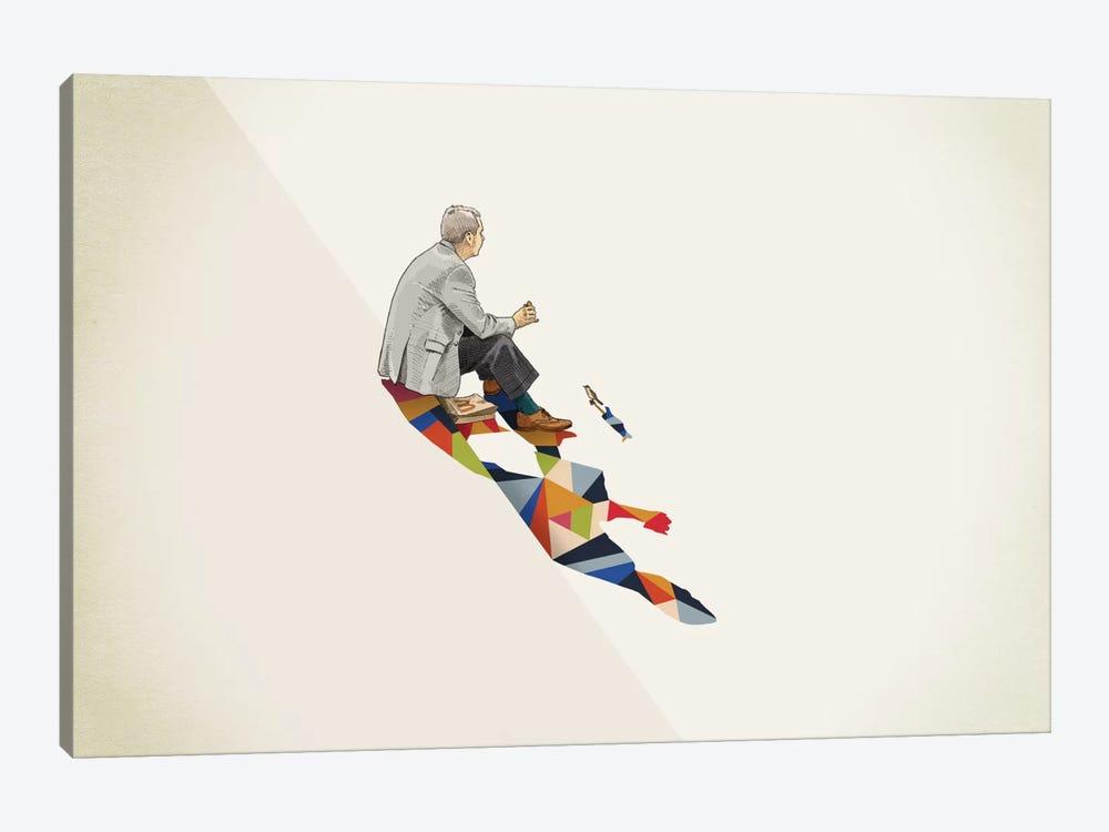 Walking Shadow Lunch by Jason Ratliff 1-piece Canvas Artwork