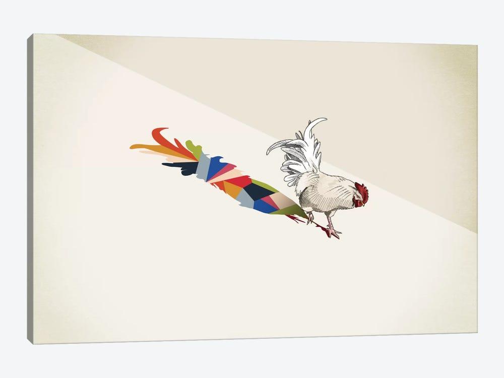 Walking Shadow Rooster by Jason Ratliff 1-piece Art Print