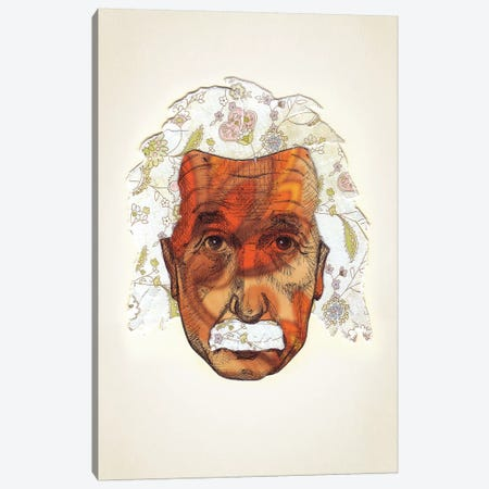 Einstein Canvas Print #JRF27} by Jason Ratliff Canvas Art Print