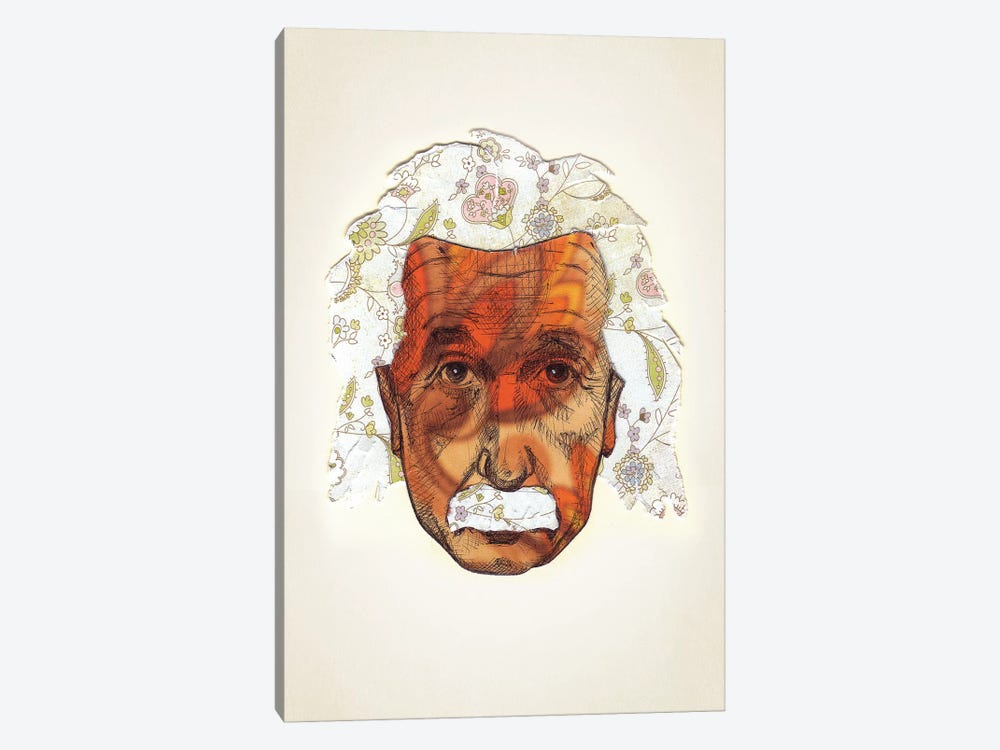 Einstein by Jason Ratliff 1-piece Canvas Wall Art
