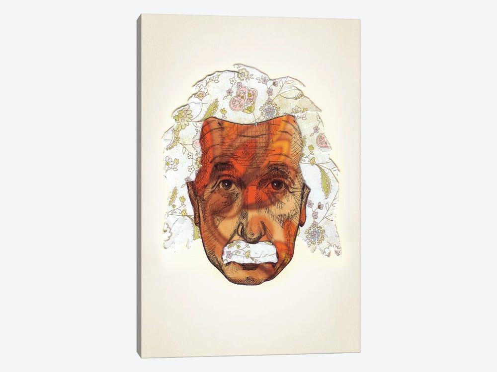 Einstein by Jason Ratliff 1-piece Canvas Wall Art