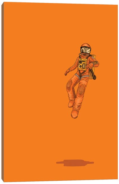 Float Out In Space Canvas Print #JRF2