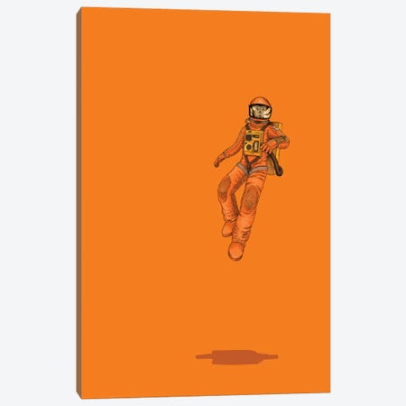 Float Out In Space Canvas Print #JRF2} by Jason Ratliff Art Print