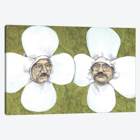 Flower Men Canvas Print #JRF30} by Jason Ratliff Canvas Art Print