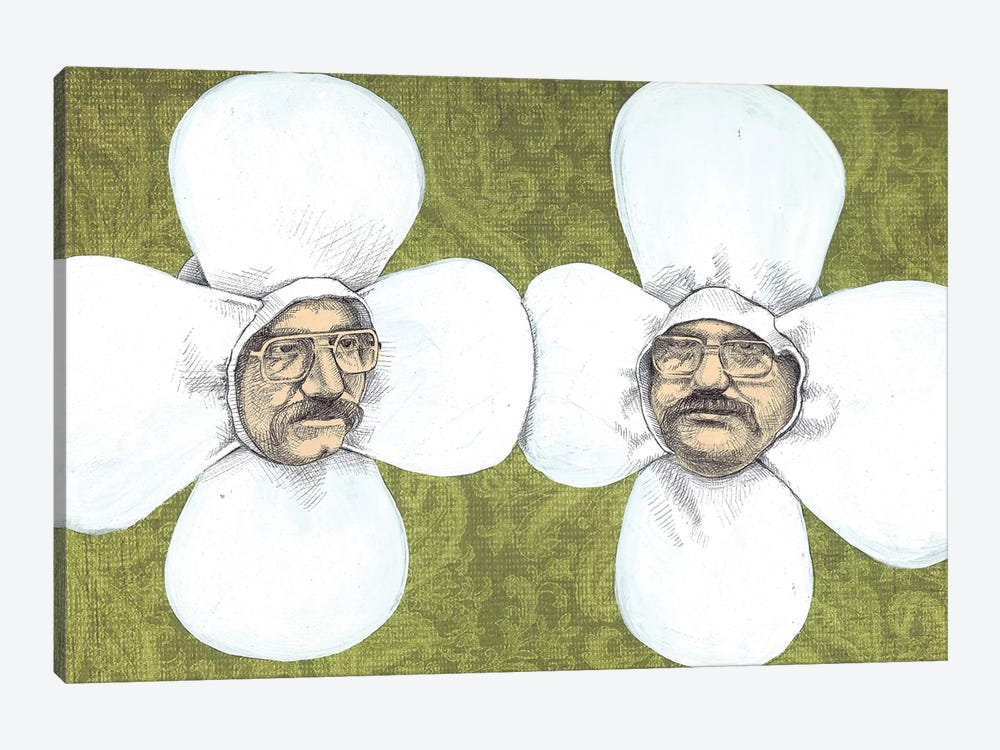 Flower Men 1-piece Canvas Art