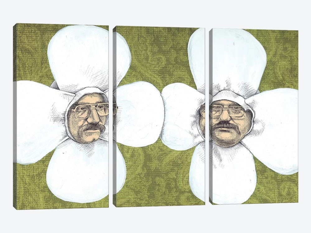 Flower Men 3-piece Canvas Art