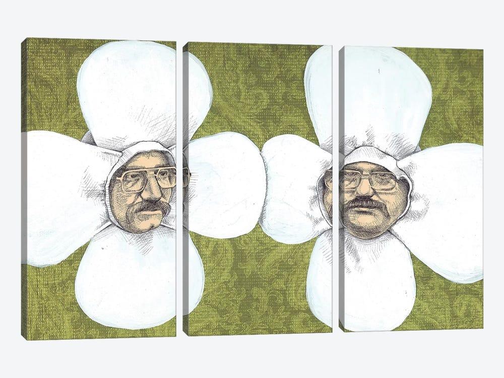 Flower Men by Jason Ratliff 3-piece Canvas Art