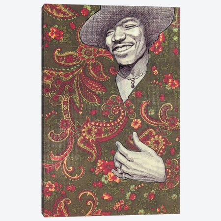 Hendrix Canvas Print #JRF31} by Jason Ratliff Art Print